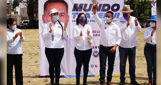 Tlatehui firma 20 compromisos en favor de las mujeres de San Andrés