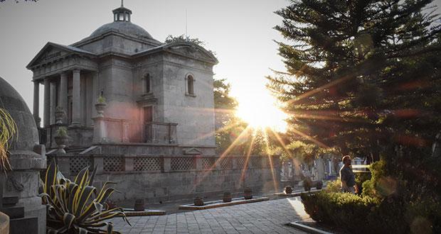 Última morada de acaudalados: Panteón Francés de Puebla