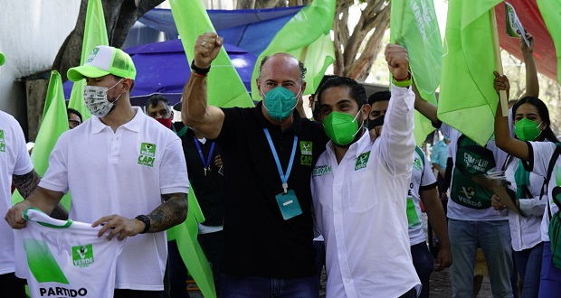 Urge revertir inseguridad, señala Roberto Ruiz al iniciar campaña en Azumiatla