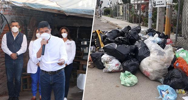 Usar desechos para energía y fomentar separación, propone Eduardo Rivera