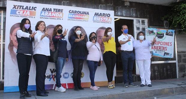 Va por Puebla promete reactivar apoyos para estancias infantiles