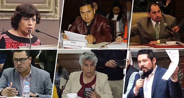 Van 8 regidores que piden licencia por elecciones; 3 regresan sin nada