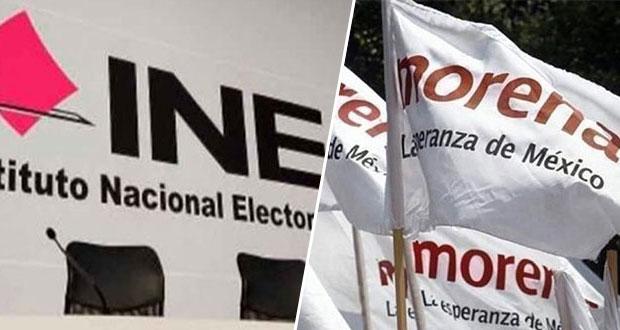 INE descarta retirar candidatura de Morena a gubernatura de SLP