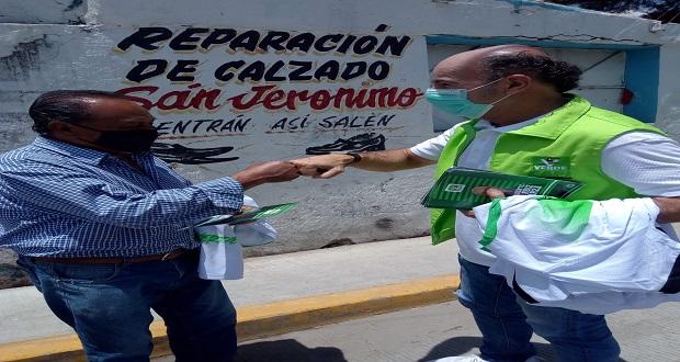 Regresaré la tranquilidad a las familias poblanas: Ruiz Esparza
