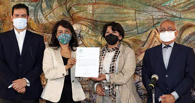 Adela Piña Bernal, nombrada como nueva titular de Usicamm