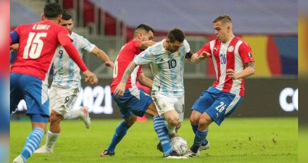 Argentina vence a Paraguay y sigue invicto en la Copa América