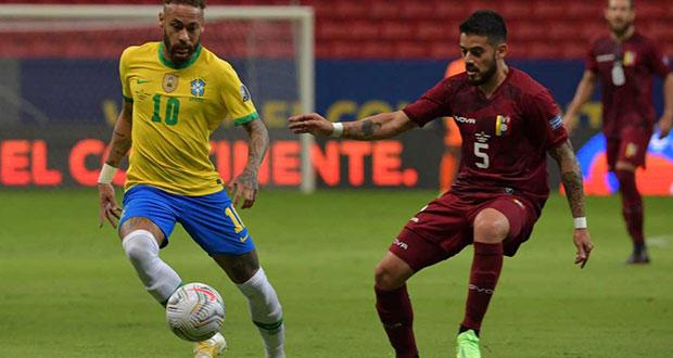 Brasil inaugura la Copa América ganando 3-0 sobre Venezuela