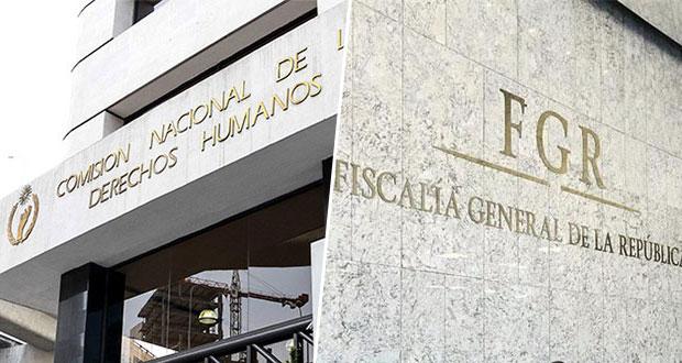"CNDH impugna Ley de FGR; ""limita colaboración con víctimas"""