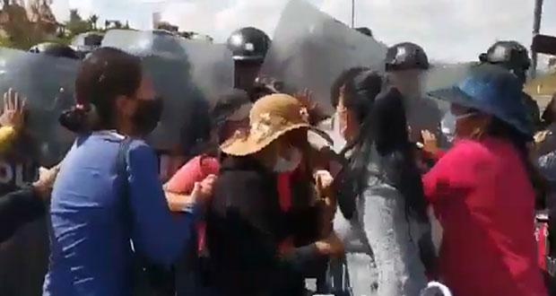 Cierran la Atlixcáyotl por falta de obras en Cacalotepec; se gestionan: Comuna