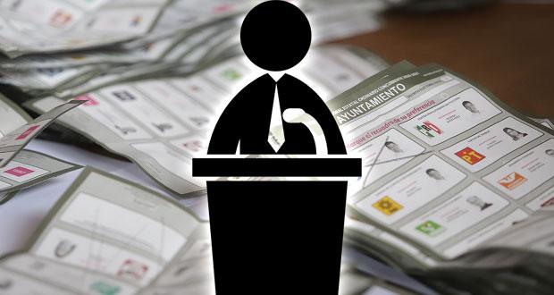 Consiguen reelección 39 de los 77 ediles de Puebla postulados