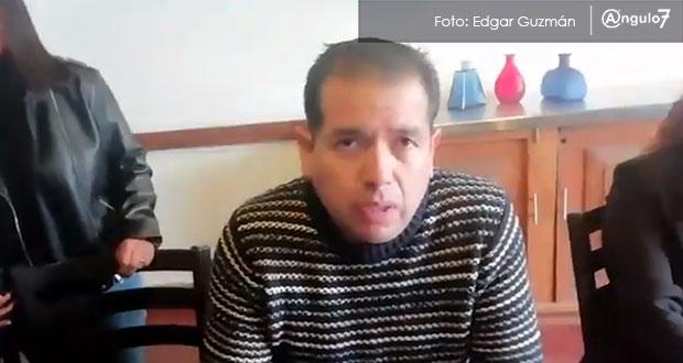 Crean frente e impugnan reelección de Layón en San Martín Texmelucan