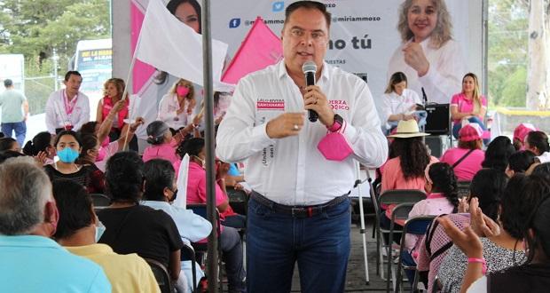 Cumpliré peticiones de ciudadanos, afirma Rivera Santamaría