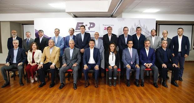 Eduardo Rivera encabeza creación de Comisión Permanente por Puebla