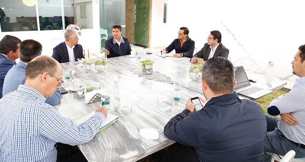 Eduardo Rivera se reúne con CCE y universidades; hablan de seguridad