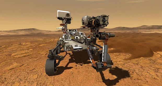 El Perseverance busca vida microbiana al sur de Marte