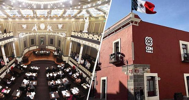 En Congreso, buscan que quienes incumplan recomendaciones de CDH comparezcan