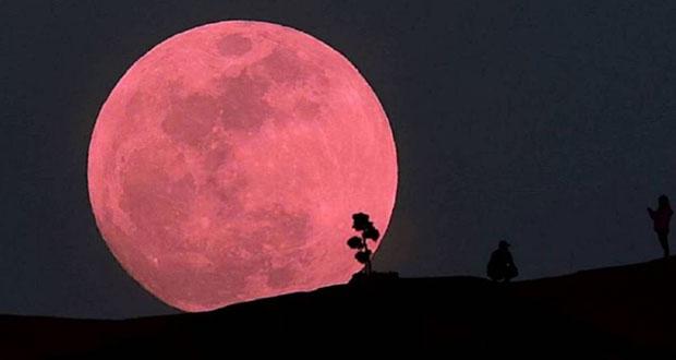 Este jueves se podrá apreciar la súper Luna de fresa en México
