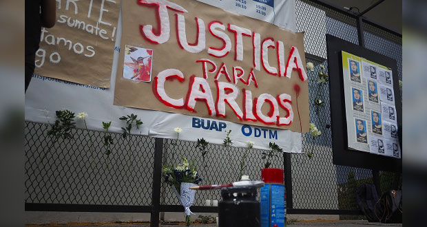 Exigen justicia para Carlos, egresado de ARPA y muerto en Xoxtla tras detención