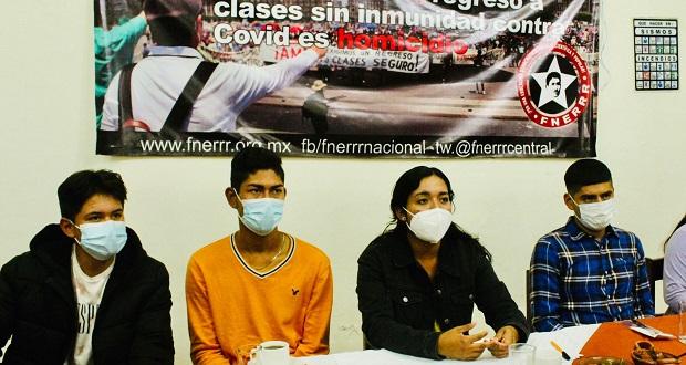 Fnerrr va a ONU por falta de vacunación Covid a estudiantes