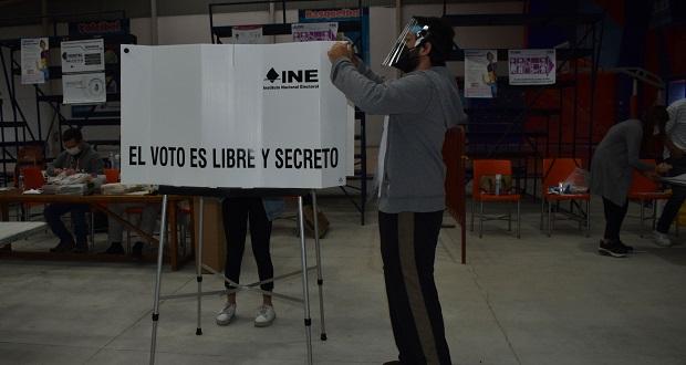 Frente a 2018, en Puebla, baja 13% participación ciudadana en urnas