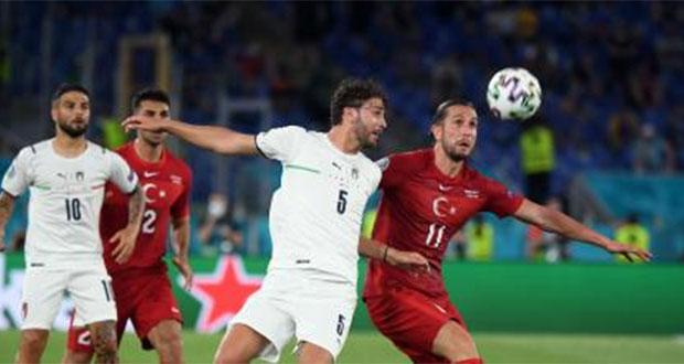 Italia golea a Turquía en la inauguración de la Eurocopa