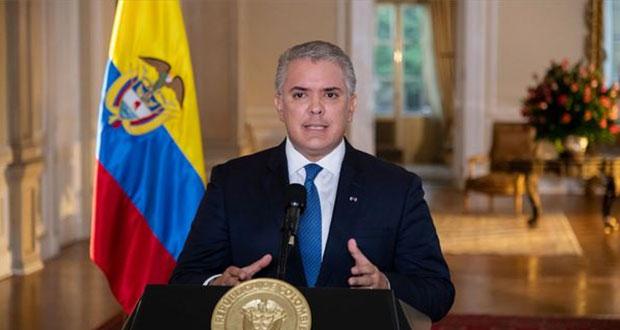 Iván Duque, presidente de Colombia, acusa atentado en helicóptero