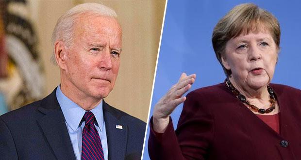 Joe Biden se reunirá con Angela Merkel en la Casa Blanca