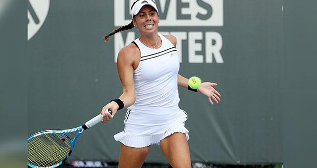 Mexicana se queda a un paso de la final de Roland Garros