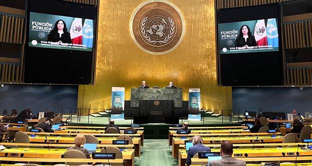 México combate corrupción como fenómeno político: SFP ante ONU