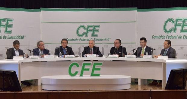 México genera doble de energía necesaria; CFE va por 6 proyectos