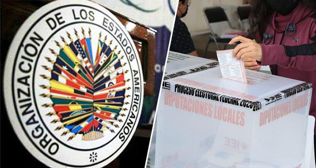 Misión de OEA no reporta incidentes graves en elecciones en México