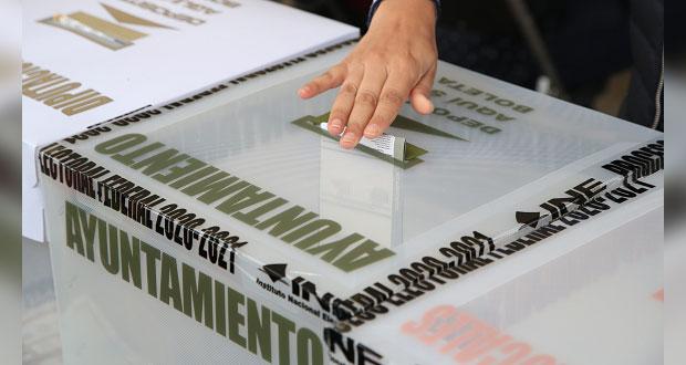 Morena, PRI, MC y PVEM, partidos que más aventajan en municipios poblanos
