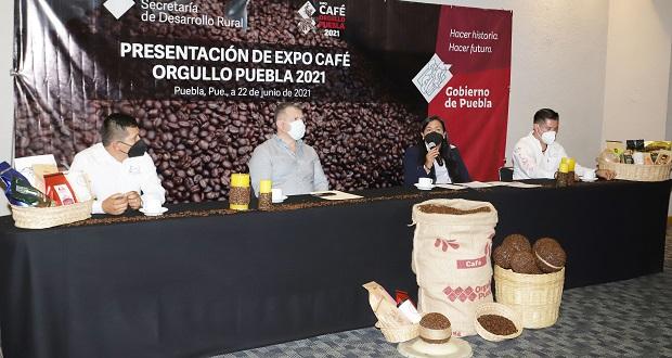 Pese a pandemia, producción de café sube en 9.4% en 2020 en Puebla