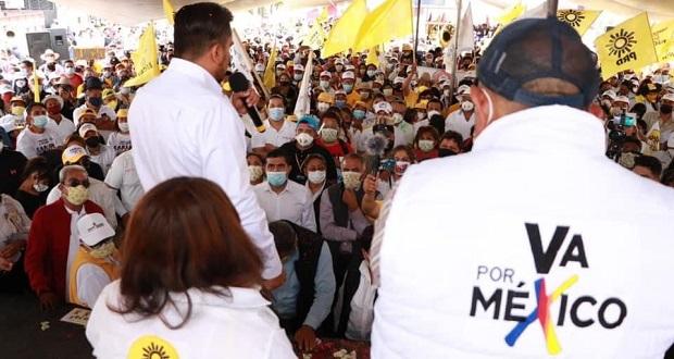 Plan de emergencia económica, plantea Carlos Morales en San Martín
