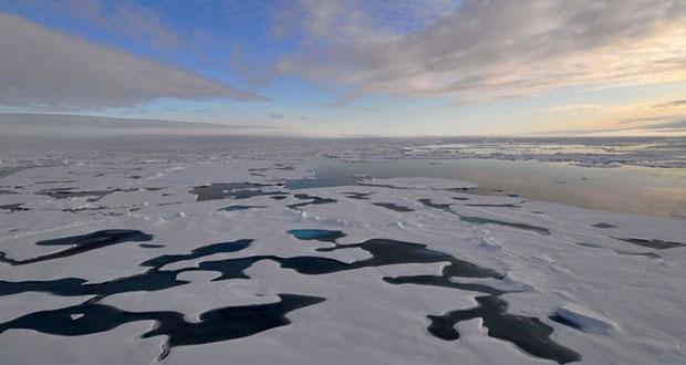 """Por cambio climático, Ártico se """"derrite"""" dos veces más rápido"""