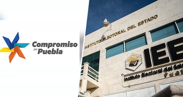 Por no alcanzar 3% de votación, IEE inicia extinción de Compromiso Por Puebla