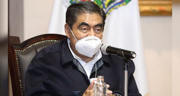 Se resguarda paquetería electoral en todo Puebla: Barbosa