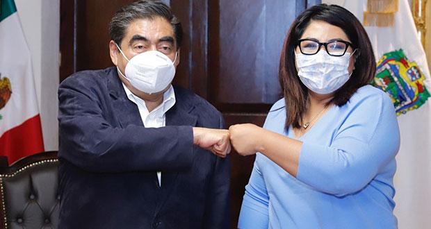 Tras elección, Barbosa y Genoveva Huerta se reúnen; habrá relación de respeto