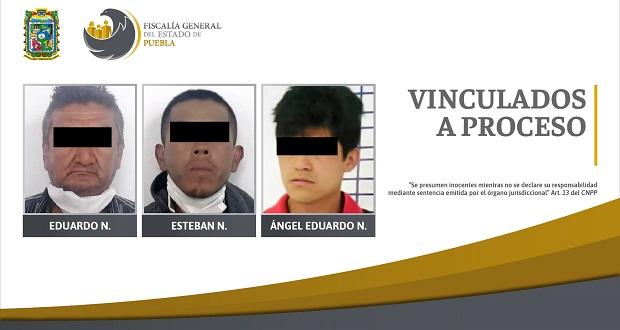 Vinculan a proceso a 3 acusados de abuso sexual en Puebla
