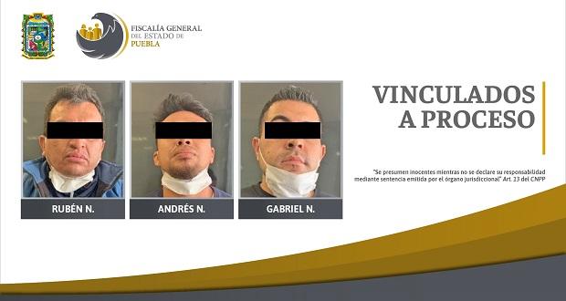 Vinculan a proceso a 3 por intento de homicidio en Huejotzingo