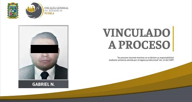 Vinculan a proceso a exagente investigador por extorsión en Tehuacán