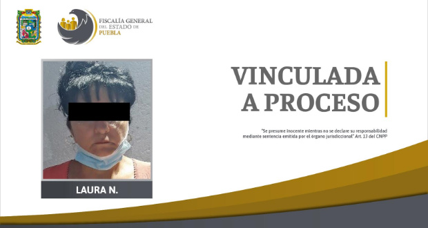 FGE detiene a mujer por el homicidio de su pareja en Puebla