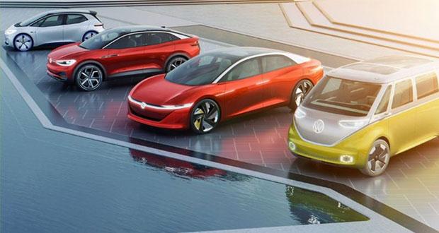 Volkswagen prevé que en 2050 todos sus autos sean eléctricos