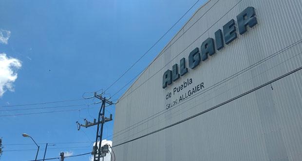 Paran trabajadores de planta Allgaier; exigen renovación sindical