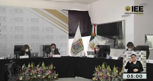 IEE Puebla reporta 81 casillas sin abrir y 50 incidentes por diversas causas