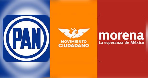 PAN, MC y Morena presentan 5 impugnaciones contra pluris de Congreso local