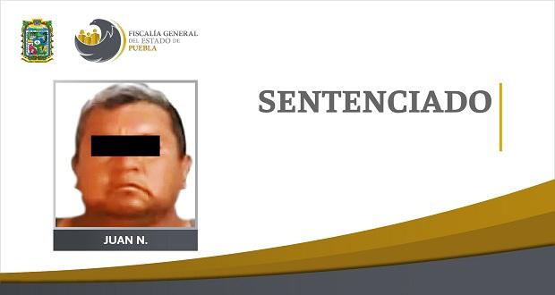 Dan 23 años de prisión a sujeto por homicidio en Tehuacán