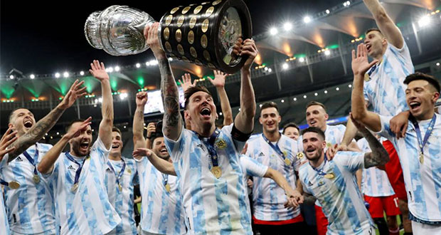 ¡La Copa América se viste de albiceleste después de 28 años!