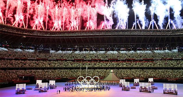 ¡Todo listo! Inauguran los Juegos Olímpicos de Tokio 2020