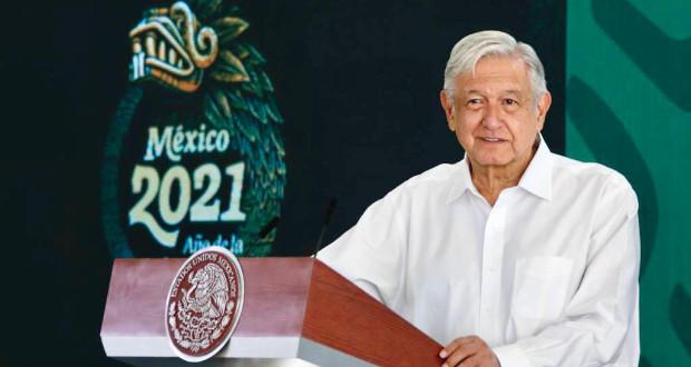 Desde Sinaloa, AMLO reitera estrategia de combate a violencia